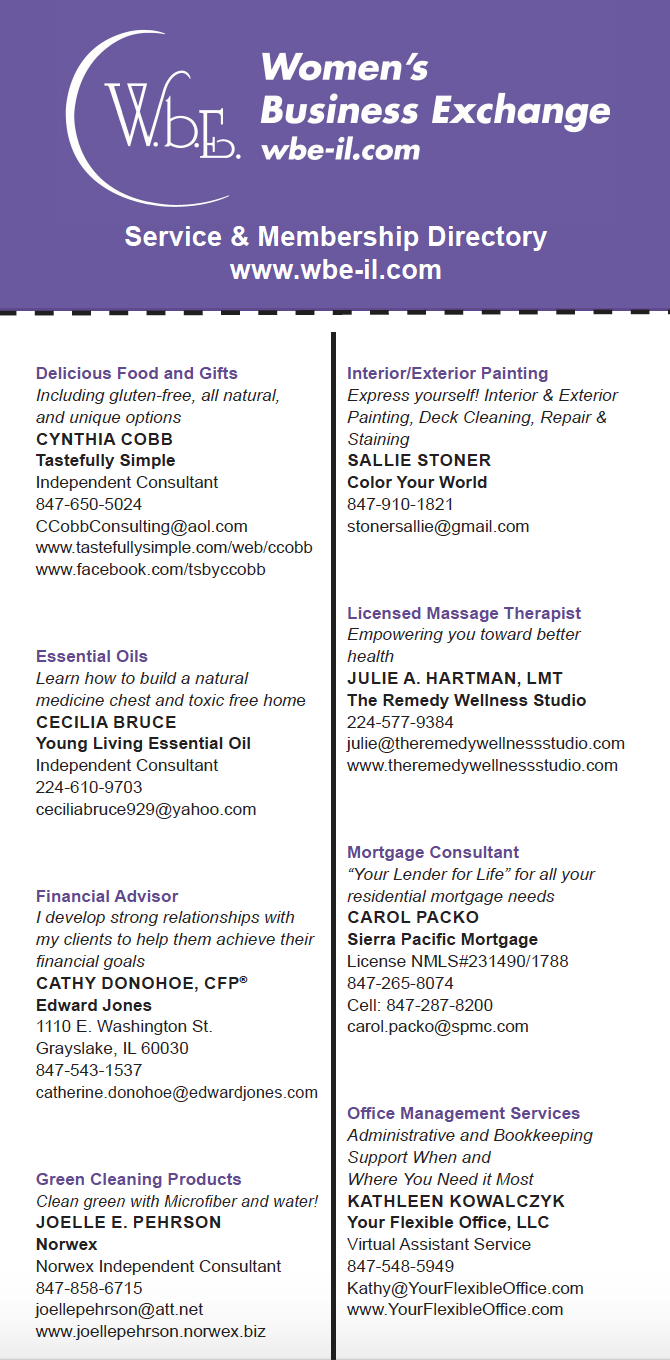 Directory page 1